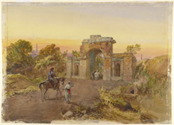 The Bailey Guard Gate, Lucknow (U.P.)
